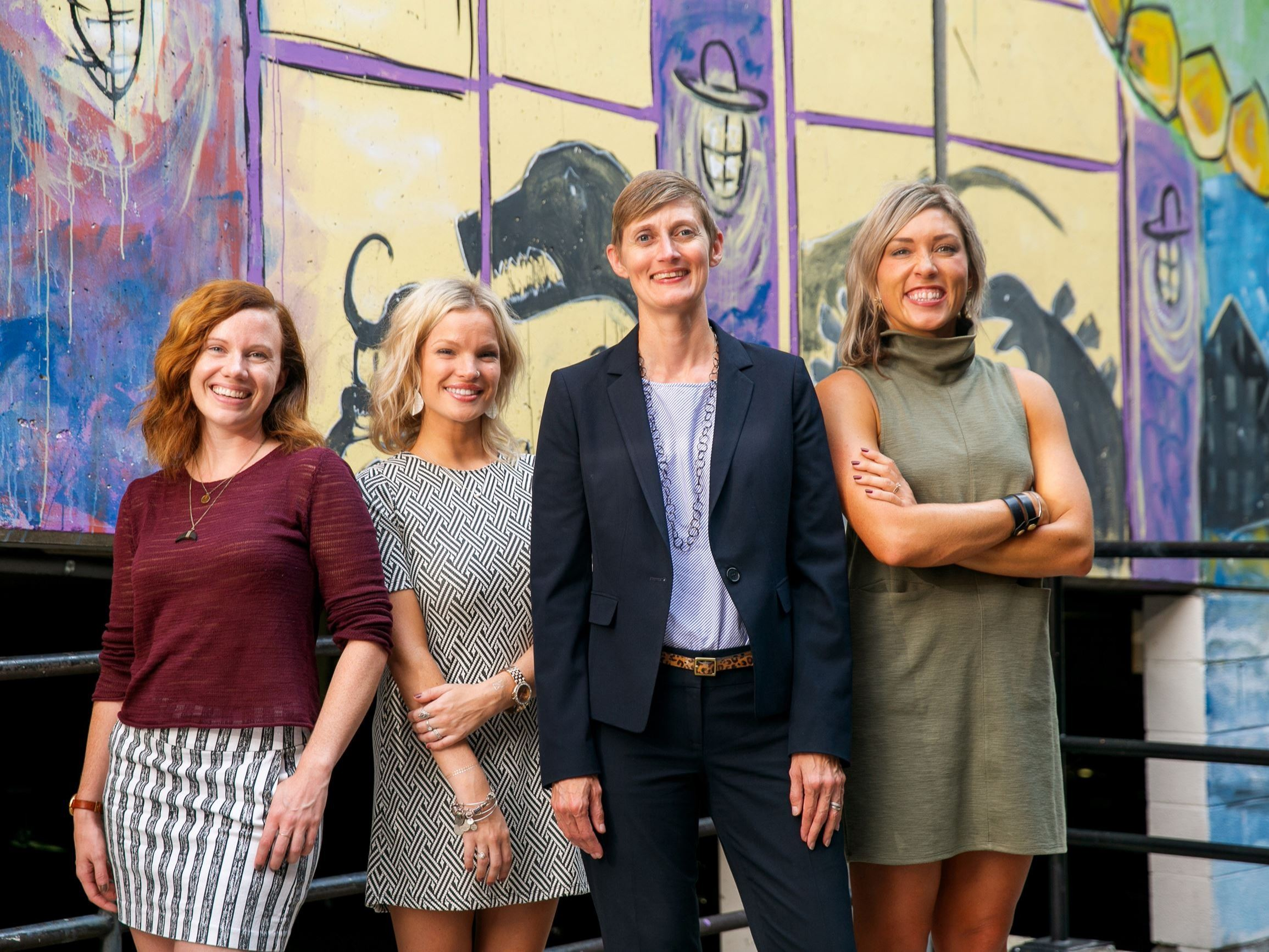 Members of Downtown Frederick Partnership